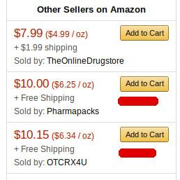 Para entregas do Zestra no Brasil, escolha o fornecedor Pharmapacks.ou OTCRX4U