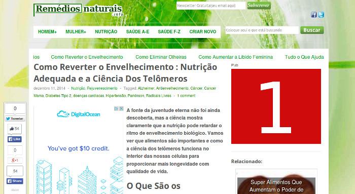Publicitar em RemédiosNaturais.info