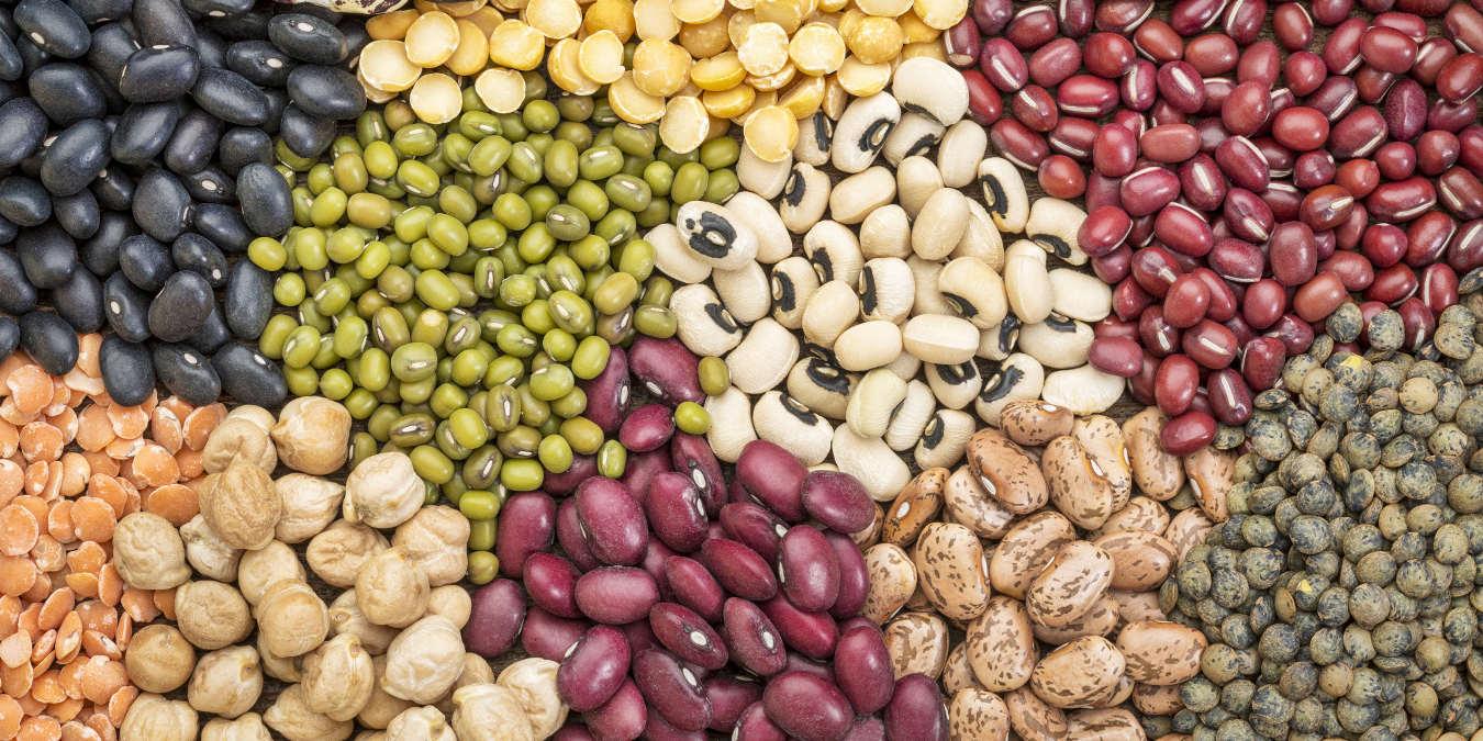 Leguminosas, fonte de proteína.