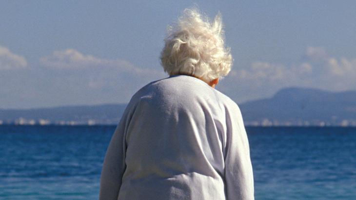 Mulher com ostoporose