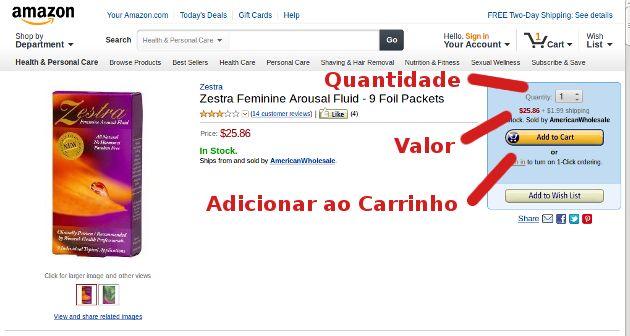 Como Comprar na Amazon.com (Instruções Passo-a-Passo)